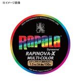 Rapala(ラパラ) ラピノヴァ・エックス マルチカラー 200m RXC200M04MC オールラウンドPEライン