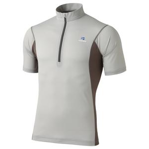 ファイントラック(finetrack) ドラウトエアジップT Men's FMM0412 メンズ速乾性半袖シャツ