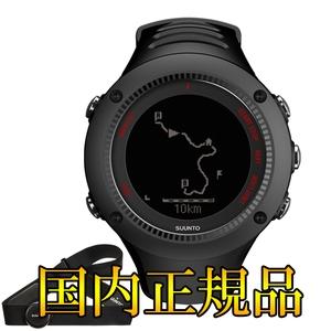 【送料無料】SUUNTO(スント) 【国内正規品】AMBIT3 RUN BLACK(HR) SS021257000