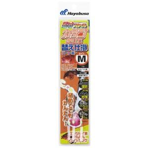 アウトドア&フィッシング ナチュラムハヤブサ(Hayabusa) ポケットスタイル カサゴ・根魚五目替え仕掛 M 金 HA553
