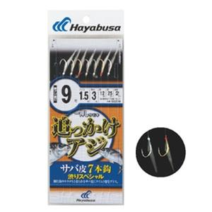 ハヤブサ(Hayabusa) 一押しサビキ 追っかけアジ サバ皮7本 渋りSP SS239