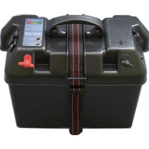 bmojapan(ビーエムオージャパン) バッテリーBOX インジケーター付(USB対応)60Aヒューズ付 C11517-1 ボート用バッテリー