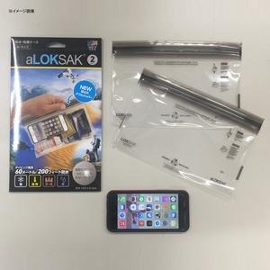 LOKSAK(ロックサック) 防水マルチケース (2枚入) M ALOKD2-9X6