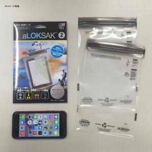 LOKSAK(ロックサック) 防水マルチケース ミニタブレット向け(2枚入) ALOKD2-6X9 タブレットケース