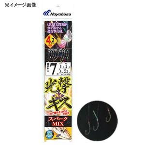 ハヤブサ(Hayabusa)光撃投げキス スパークMIX 4本鈎2セット