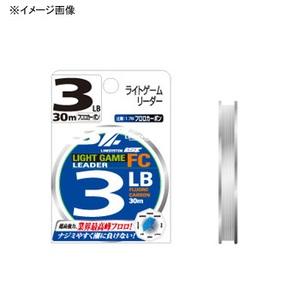 ラインシステム LIGHT GAME LEADER(ライトゲームリーダー) FC 30m 1号/4lb 透明 L4110G