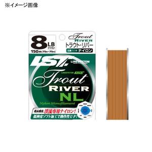 ラインシステム TROUT RIVER(トラウトリバー) NL 150m 1.5号/6lb ブラウン L5060B