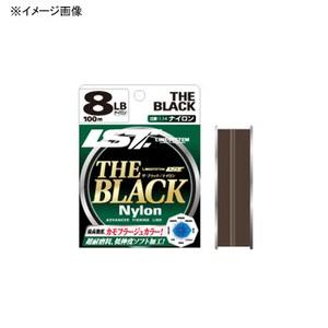 ラインシステム THE BLACK ナイロン 100m 3.5号/14lb ダークグリーンブラウン L3014A