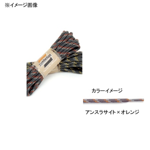 zamberlan(ザンバラン) 丸紐 150cm アンスラサイトxオレンジ ZA-L5-150