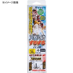 がまかつ(Gamakatsu) お墨付きアオリイカするする仕掛 IK-040 イカ釣り用品(ヤエン)