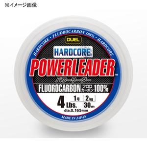 デュエル(DUEL) HARDCORE POWERLEADER(ハードコア パワーリーダー) FC 30m 2号/8Lbs ナチュラルクリアー H3442