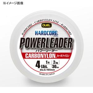 デュエル(DUEL) ハードコア パワーリーダー CN 30m 1.5号/6Lbs クリアー H3436