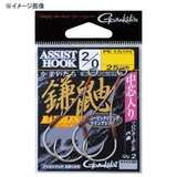 がまかつ(Gamakatsu) バラ アシスト 鎌鼬ショート GA010 68324 ジグ用アシストフック
