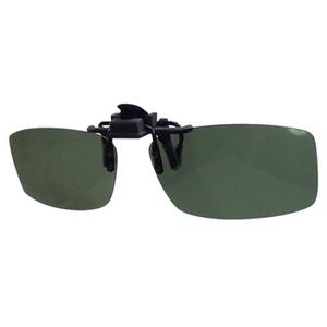 LSD クリップサングラス タイプ2 ブラッククリップ グレーグリーン