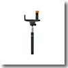 アウトドア&フィッシング ナチュラム【送料無料】東京企画販売 自分撮りスティック MONOPOD ブラック ZK-12BK