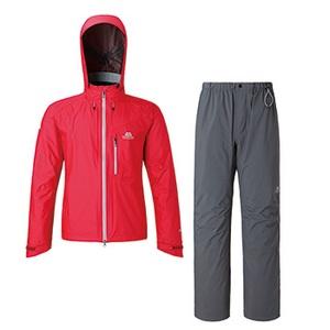 【送料無料】マウンテンイクイップメント(Mountain Equipment) Dewline Rain Suit L トゥルーレッド 421204