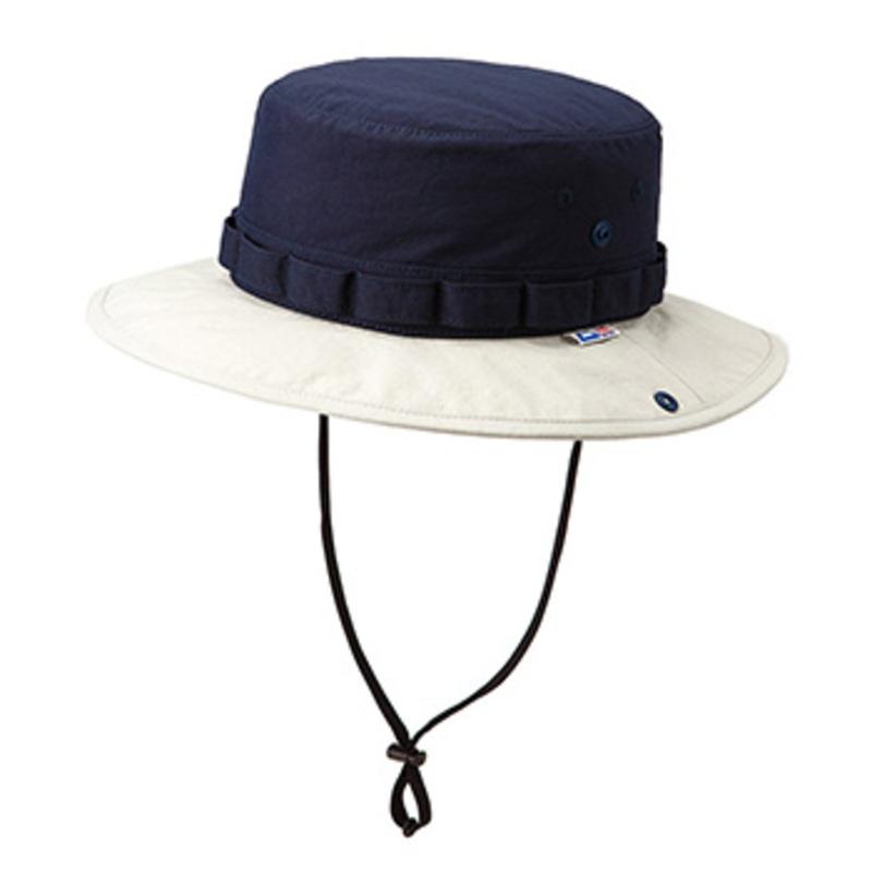 マウンテンイクイップメント(Mountain Equipment) Classic Jungle Hat L ネイビー×グレイ 423084