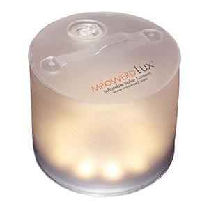 エムパワード(MPOWERD) MPOWERD LUX(エムパワードラックス) 暖色インフレータブルLEDソーラーランタン 暖色