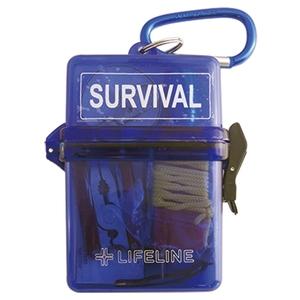 ライフライン(LIFE LINE) 防水サバイバルBOX ブルー LF-0046