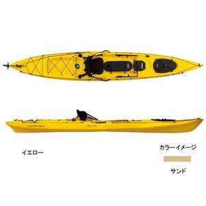 【送料無料】マリブ オーシャンカヤック トライデント15 アングラー サンド MC-57