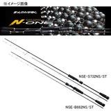 メジャークラフト エヌワン NSE-S732NS/ST 鉛スッテ用ロッド