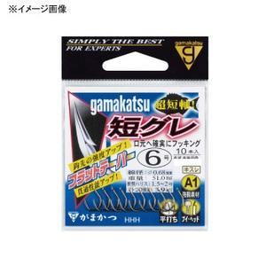 がまかつ(Gamakatsu) A1(エーワン)短グレ 5号 茶 67050
