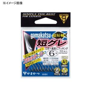 がまかつ(Gamakatsu) A1(エーワン)短グレ 8号 茶 67050