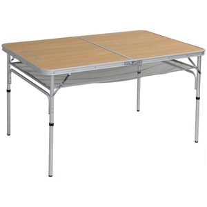 【送料無料】TENT FACTORY(テントファクトリー) デュアルフォールディングテーブル1280EX NA(ナチュラル) TF-DFT1280EX