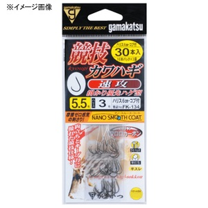 がまかつ(Gamakatsu) 糸付 競技カワハギ 速攻 30本 鈎4/ハリス2.5 11741