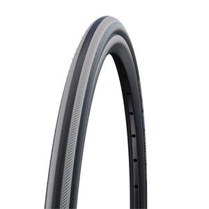 SCHWALBE(シュワルベ) 【正規品】ライトラン「車椅子タイヤ」 26x7/8 グレーストライプ 10283387.01