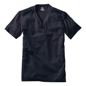 ミズノ(MIZUNO) C2JA5602 BT/エブリVネックハンソデM C2JA5602 メンズ&男女兼用長袖アンダーシャツ