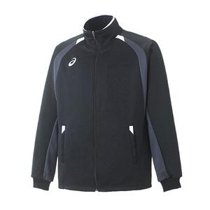 アシックス(asics) XA607N トレーニングジャケット O 90(ブラック)