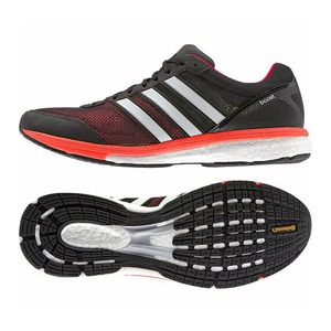 【送料無料】adidas(アディダス) サブ5 ADIZERO BOSTON BOOST(アディゼロ ボストン ブースト)ワイド Men's 26.0cm B33482(ホワイトxブラックxイエロー)