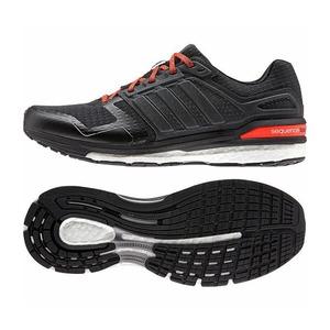 【送料無料】adidas(アディダス) SNOVA SEQUENCE BOOST 2(エスノヴァ シークエンス ブースト) Men's 27.0cm B34594(コアブラックxコアブラックxレッド)