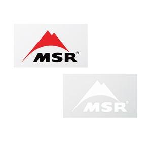 MSR(エムエスアール) 【国内正規品】MSRステッカー(2枚セット) 36903
