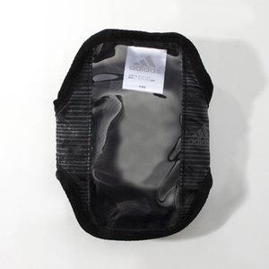 adidas(アディダス) ランニング モバイルポーチ NS (A96077)ブラックxグラナイト KBQ28