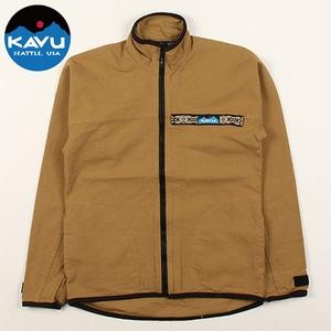 KAVU(カブー) F/Z Throw Shirts(フルジップ スローシャツ) 19810052047005 メンズ長袖シャツ