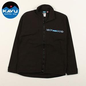 KAVU(カブー) F/Z Throw Shirts(フルジップ スローシャツ) 19810052001005 メンズ長袖シャツ