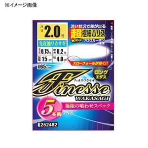 カツイチ(KATSUICHI) フィネスワカサギ 4本鈎 FN-4