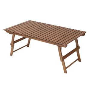 TENT FACTORY(テントファクトリー) ウッドライン グランドホームテーブル TF-WLGTW-BR キャンプテーブル