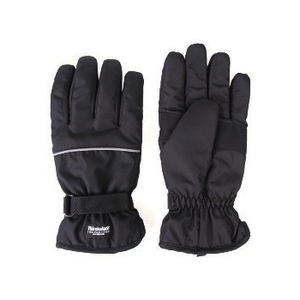 日栄産業(nichiei) ナイロン手袋(Thinsulate入り) フリー ブラック 5214