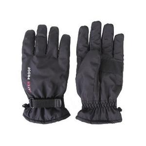日栄産業(nichiei) ナイロン手袋(防水インナー入り) フリー ブラック 5215