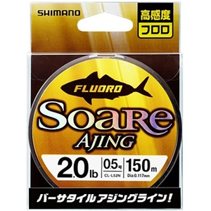 シマノ(SHIMANO) CL-L52N ソアレ アジング フロロ 150m 44263 ライトゲーム用フロロライン
