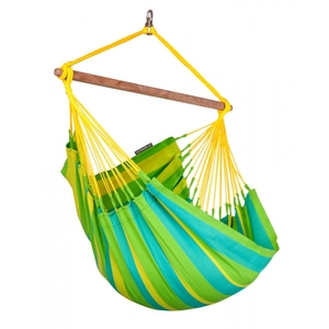 【送料無料】ラ シエスタ(LA SIESTA) チェアハンモックベーシック hammock chair basic lime SNC14-4