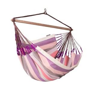 【送料無料】ラ シエスタ(LA SIESTA) チェアハンモック ロウンガー hammock chair lounger plum DOL21-7