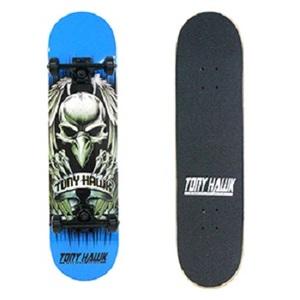 【送料無料】トニー・ホーク(TONY HAWK) BANNER スケートボード ブルー