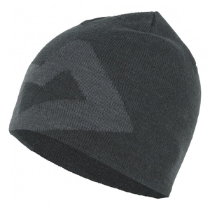 Branded Knitted Beanie(ブランデッド ニッティッド ビーニー) ONE SIZE レイヴン