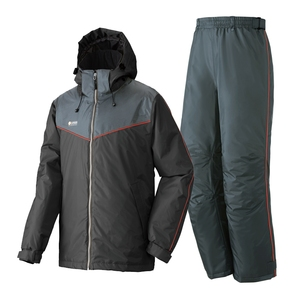 【送料無料】ロゴス(LOGOS) 防水防寒スーツ オーウェン 3L 71ブラック 30336710