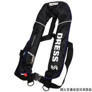ドレス(DRESS) DRESS 自動膨張ベスト LD-OP-1101 インフレータブル(自動膨張)
