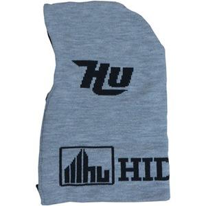 HIDEUP(ハイドアップ) HUフードネックウォーマー 2015 モデル フリー #02 グレイxブラック